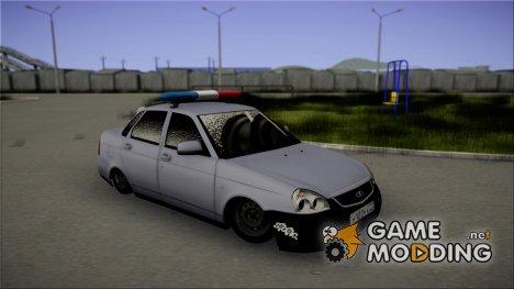 """ВАЗ 2170 """"Приора"""" Static Police for GTA San Andreas"""