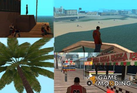Оживление парка развлечений v2 для GTA San Andreas