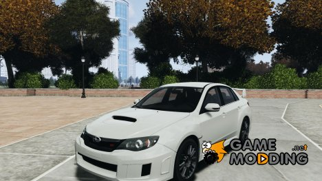 Subaru Impreza WRX STi 2011 для GTA 4
