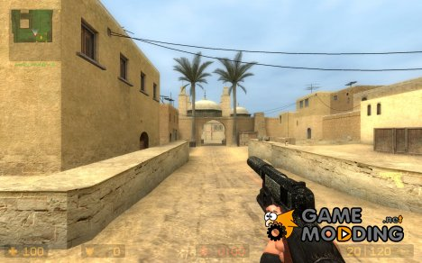Tactical M1911 for Glock (Default Css Glock Anims) для Counter-Strike Source