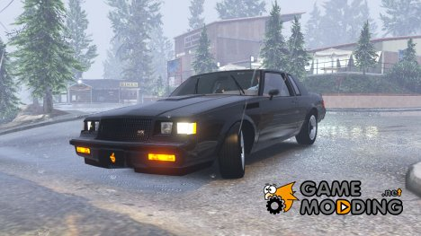 1987 Buick GNX 1.6 for GTA 5