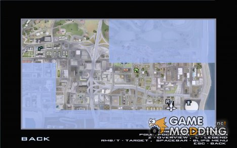 Detailed Map and Radar Mod for GTA San Andreas