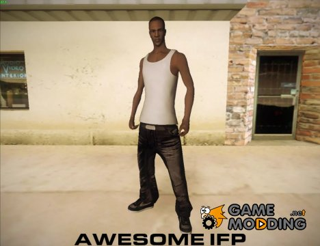 Project Awesome IFP для GTA San Andreas