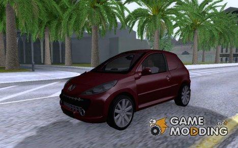 2010 Peugeot 206 for GTA San Andreas
