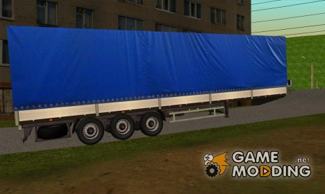 Полу-прицеп МАЗ 9758-012 для Scania P400 для GTA San Andreas