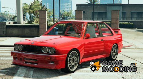1991 BMW E30 (Race Car) для GTA 5