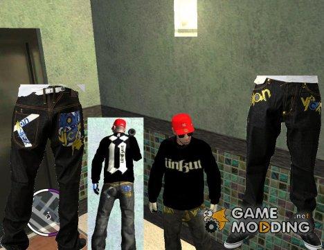 """Джинсы от """"Konvict"""" для GTA 4"""