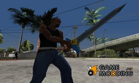 Biggoron Sword from Zelda для GTA San Andreas