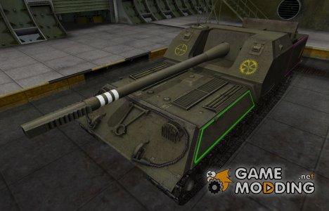 Контурные зоны пробития Объект 263 для World of Tanks