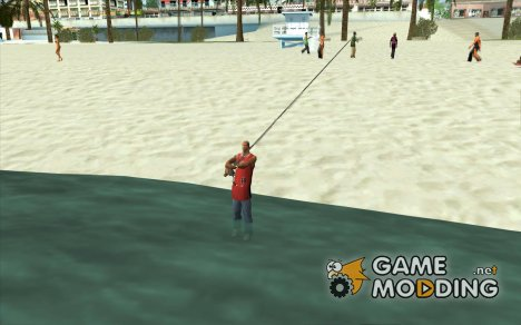 The present fishing mod V1 for GTA San Andreas