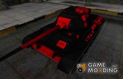 Черно-красные зоны пробития Т-44 for World of Tanks