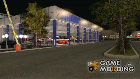 Новый Автосалон в  Южном for GTA San Andreas