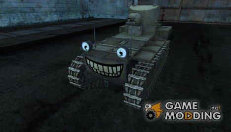 Шкурка для T1 Cunningham for World of Tanks