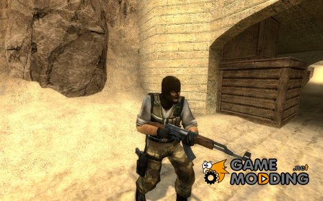 morbid mouth camo-terror for Counter-Strike Source