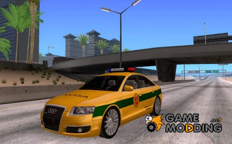 Audi A6 Policija for GTA San Andreas