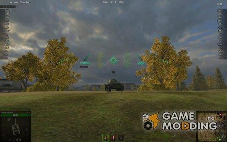 Снайперский и Аркадный прицелы ZX 0.7.1 for World of Tanks