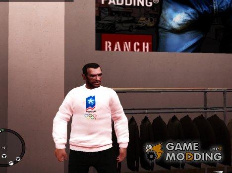 Shirt Sochi 2014 для GTA 4