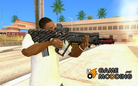 Tavor Tar-21 Carbon for GTA San Andreas