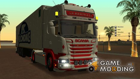 Scania Stremline для GTA San Andreas