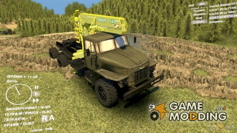Урал 375Д для Spintires DEMO 2013