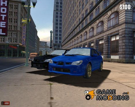 Subaru Impreza WRX for Mafia: The City of Lost Heaven
