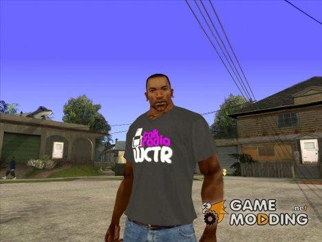 CJ в футболке (Talk Radio) для GTA San Andreas