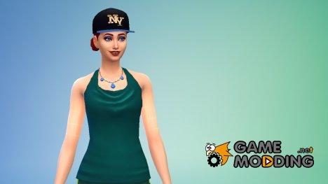 Стильные Кепки for Sims 4