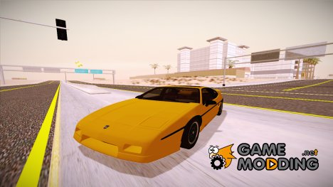Pontiac Fiero GT G97 1985 IVF for GTA San Andreas