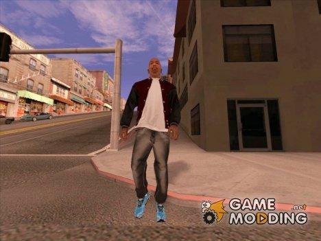 Чёрные джинсы for GTA San Andreas