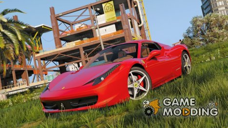 Ferrari 458 Spider 2013 1.31 for GTA 5