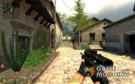 Mannlicher Steyr Scout Tactica for Counter-Strike Source
