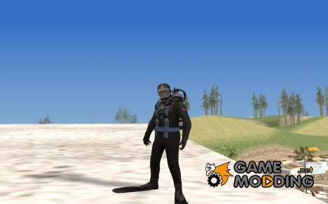 Diver from Silent Hill Downpour для GTA San Andreas