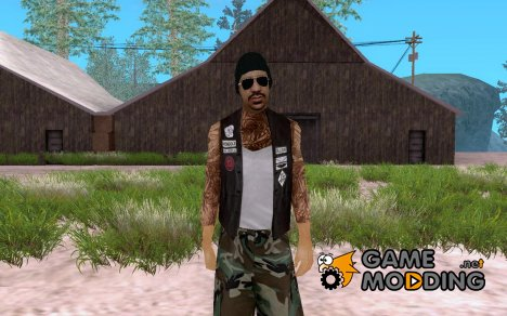 Veteran biker for GTA San Andreas
