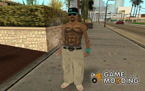 Новый скин Ацтека для GTA San Andreas