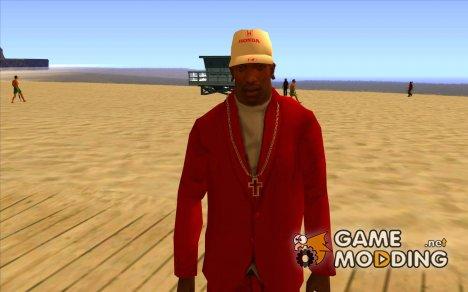 Кепка honda for GTA San Andreas