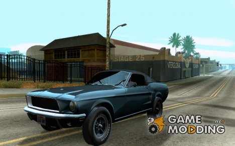 1968 Ford Mustang Bullitt for GTA San Andreas