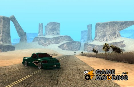 Dodge Ram srt-10 shark для GTA San Andreas