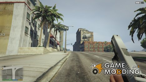 Glock 17 Stainless Slide for GTA 5