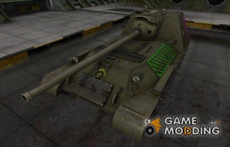 Качественные зоны пробития для СУ-100М1 для World of Tanks