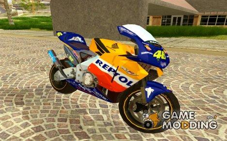 Honda Repsol Rossi for GTA San Andreas