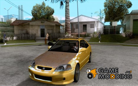 Honda Civic Coupe Si Coupe 1999 for GTA San Andreas