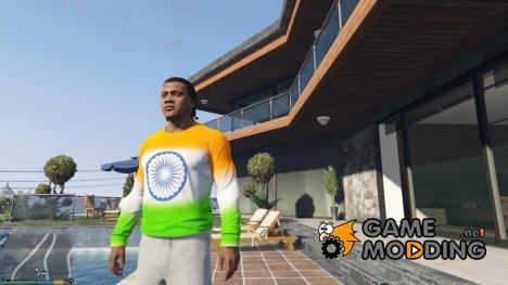 Футболка Индийский флаг для Франклина для GTA 5