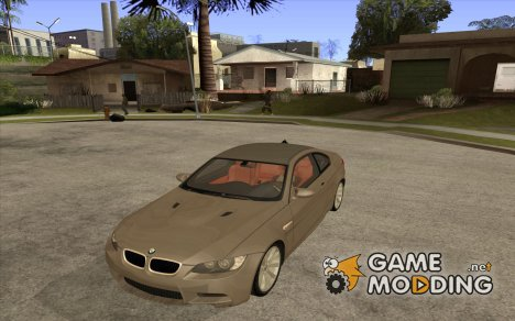 BMW M3 E92 Stock for GTA San Andreas