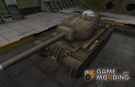 Зоны пробития контурные для T34 for World of Tanks