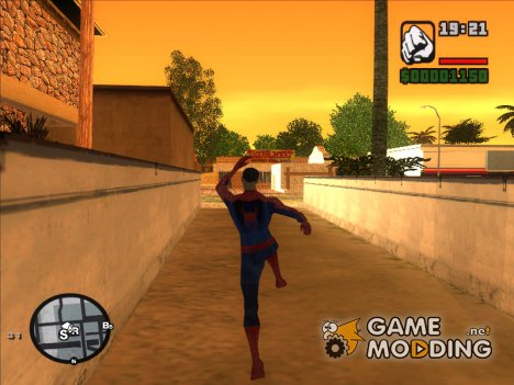 The Amazing Spider-Man Anim Test v1.0 для GTA San Andreas