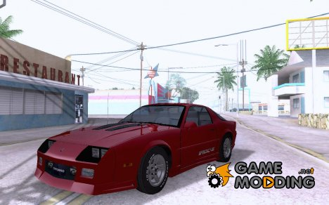 Chevrolet Camaro IROC-Z 89' for GTA San Andreas
