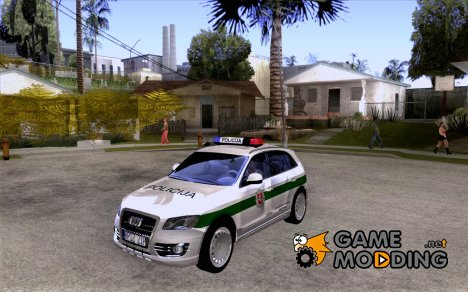 Audi Q5 TDi - Policija for GTA San Andreas