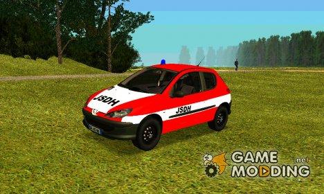Peugeot 206 Fire для GTA San Andreas