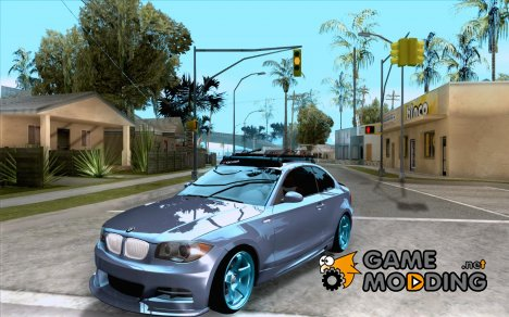 BMW 135i Hella Drift для GTA San Andreas