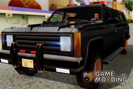 FBI Rancher with Lightbars для GTA San Andreas